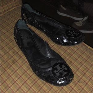 Tory Burch sequence flats shoe